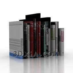 一些书c-3DS格式3D模型【ID:28614】