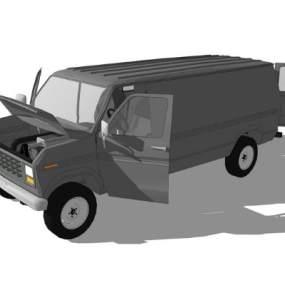 汽车SU模型【ID:447335954】