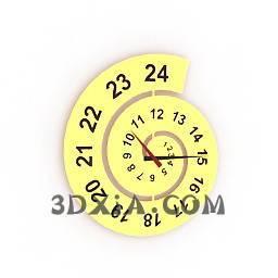 d时钟sdown4-3DS格式3D模型【ID:28926】