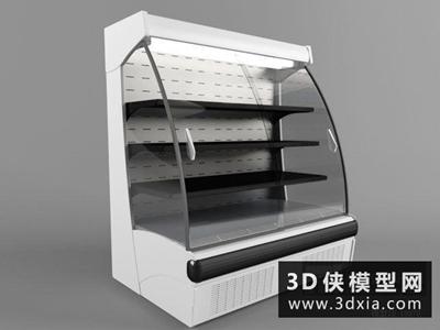 冰柜国外3D模型【ID:229564371】