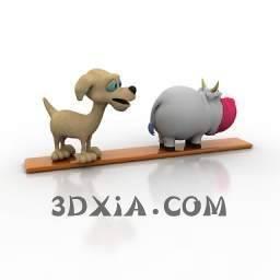 卡通玩具c-3DS格式3D模型【ID:29834】