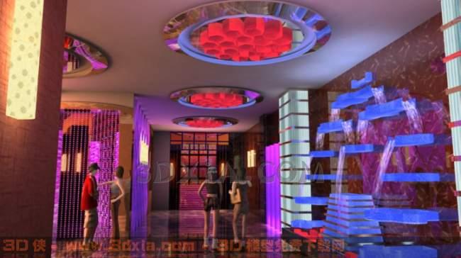 酒吧3D模型【ID:29839】