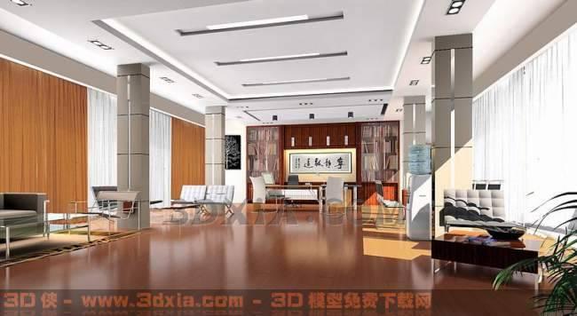 办公室-BF3D模型【ID:29887】