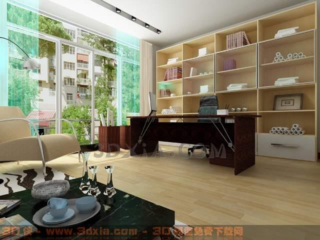 办公室-CC3D模型【ID:29895】