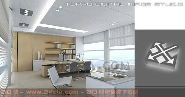 办公室-DK3D模型【ID:29908】