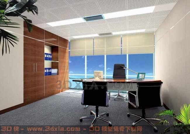 办公室-FB3D模型【ID:29916】
