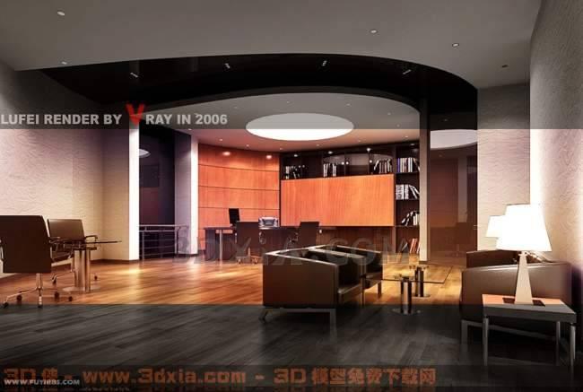 办公室-K3D模型【ID:29921】