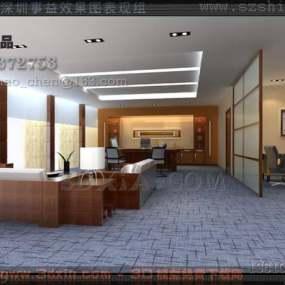 办公室-KK3D模型【ID:29928】