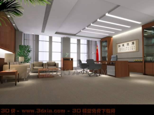 办公室-KQ3D模型【ID:29930】