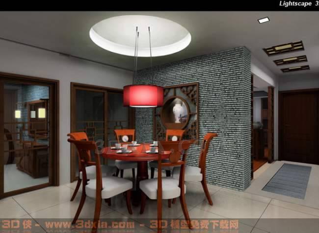 餐厅-Gd3D模型【ID:29992】
