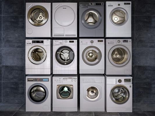洗衣機3D模型【ID:127861549】