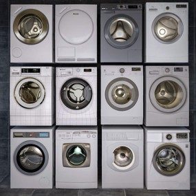 洗衣机3D模型【ID:127861549】
