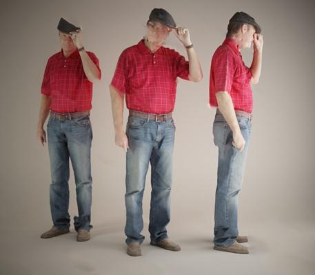 现代男人3D模型【ID:620604410】