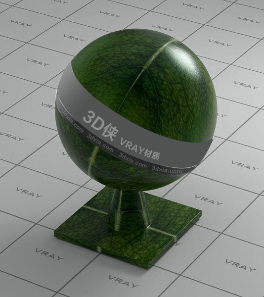 綠色樹葉Vray材質【ID:836424100】