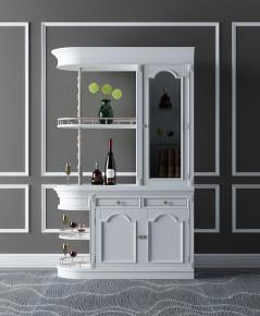 欧式酒柜摆件组合3D模型【ID:927825038】