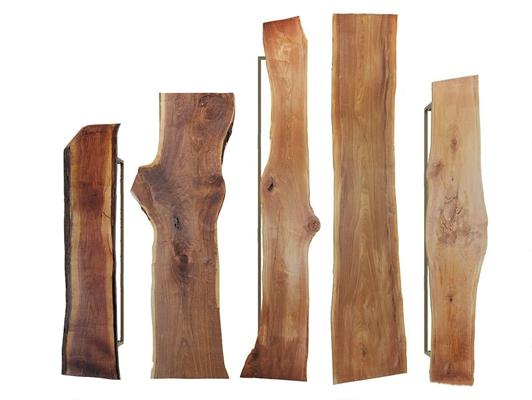 新中式木头桌面台面组合3D模型【ID:328247442】