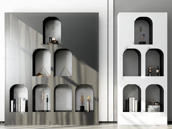 現代裝飾柜3D模型【ID:146258141】