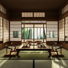 日本和室3D模型【ID:127844997】
