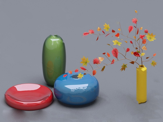 花瓶3D模型【ID:920013620】