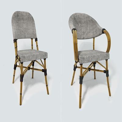 现代藤椅3D模型【ID:734111530】