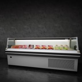现代冰柜组合3D模型【ID:127761269】