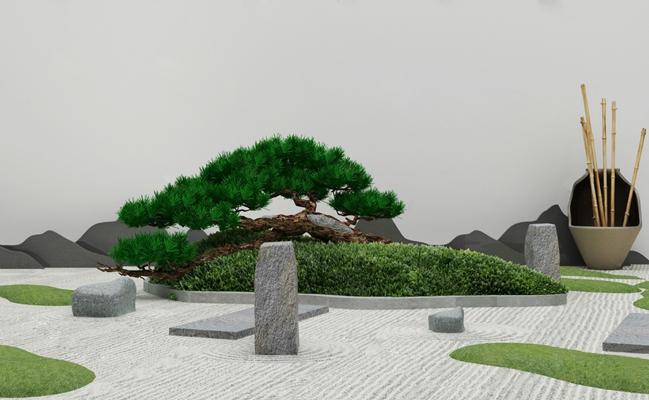 现代景观小品3D模型【ID:124887261】