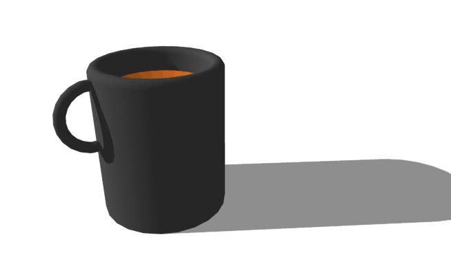 咖啡杯SU模型【ID:939583820】
