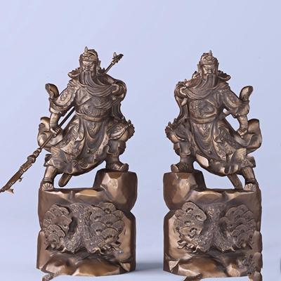 關羽關公大刀人物雕塑擺件3D模型【ID:327930897】