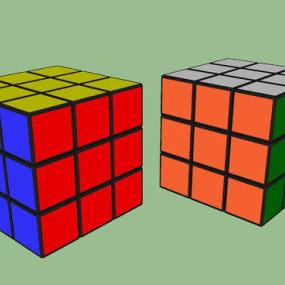 Rubic立方体 垃圾箱 书 纸盒箱 火柴 箱子 【ID:639589756】