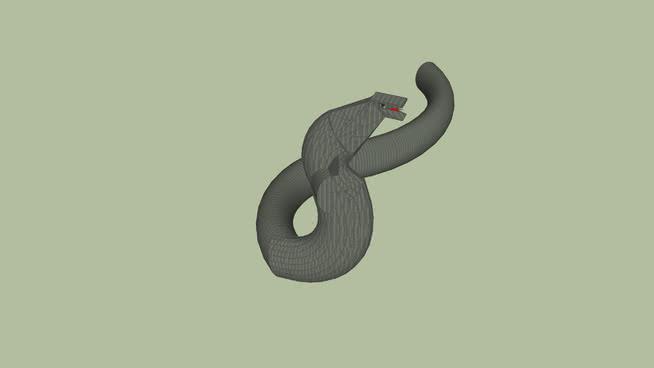 蛇眼鏡蛇SU模型【ID:739591567】