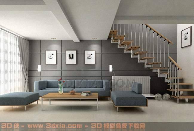 大厅EDB3D模型【ID:30174】