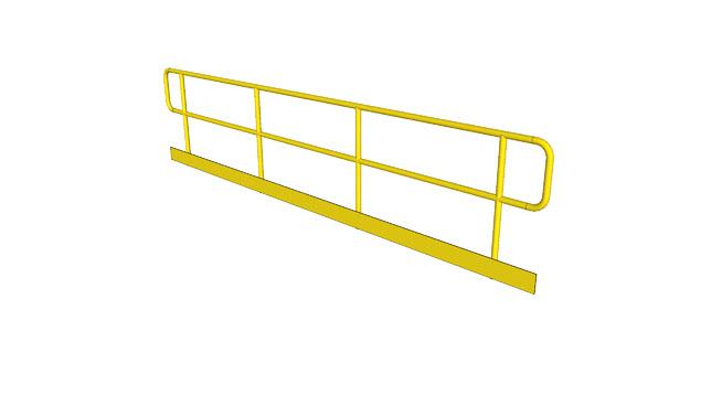 工业围栏SU模型【ID:939595901】