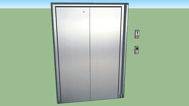 电梯SU模型【ID:937620059】