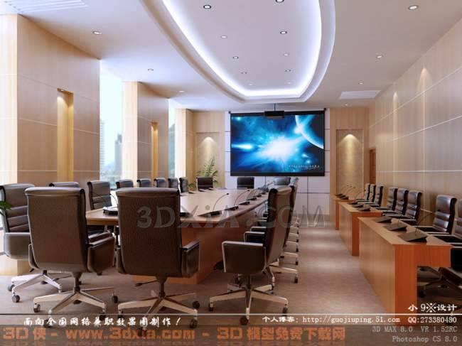 会议室BD3D模型【ID:30836】