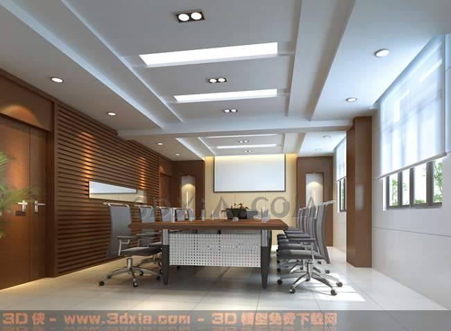会议室BQ3D模型【ID:30842】