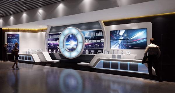 现代科技展厅3D模型【ID:948245763】