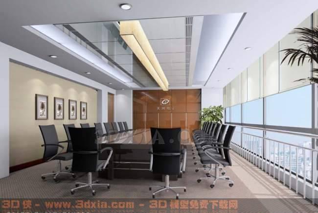 会议室Qd3D模型【ID:30896】