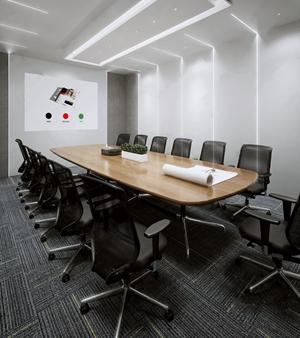 现代会议室3D模型【ID:720805898】
