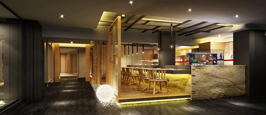 现代茶餐厅3D模型【ID:314920180】