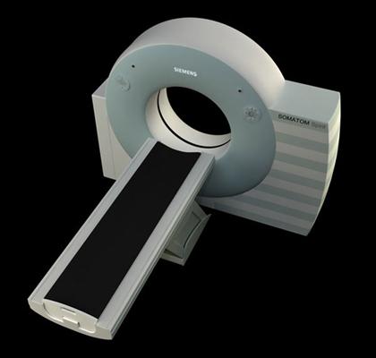 白色CT机3D模型【ID:315079465】