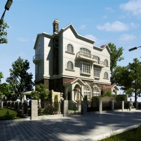 多层住宅3D模型【ID:315173821】