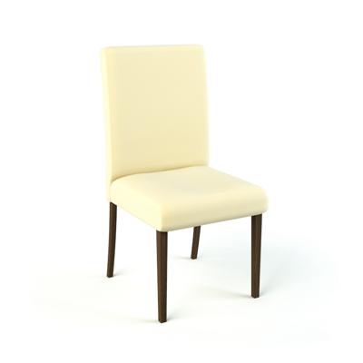现代布艺餐椅3D模型【ID:315238079】