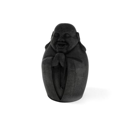 黑色大理石佛像3D模型【ID:315240711】