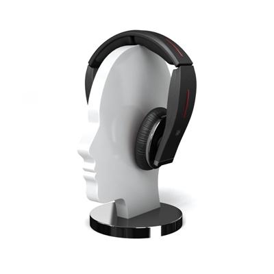 黑色耳机3D模型【ID:315252775】