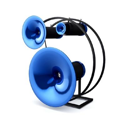 蓝色音响3D模型【ID:315269196】