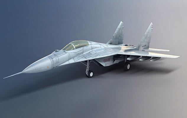 飛機3D模型【ID:315274081】