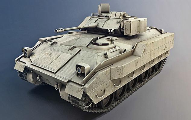 坦克3D模型【ID:315274160】