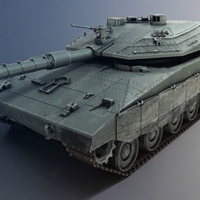 坦克3D模型【ID:315274165】