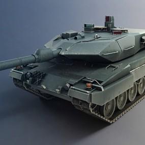坦克3D模型【ID:315274169】