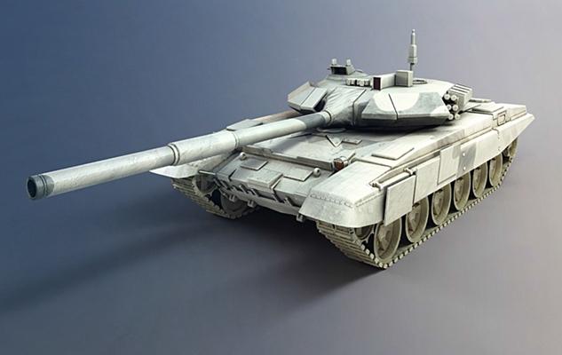 坦克3D模型【ID:315274174】